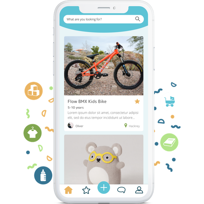 The YoungPlanet app lets parents swap their kids' toys for free
