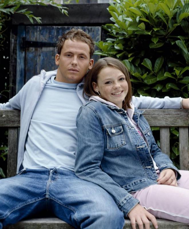 Joe and Shana Swash on EastEnders