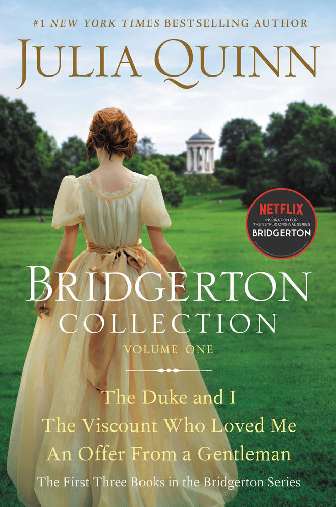 Bridgerton season one is based on a book by Julia Quinn