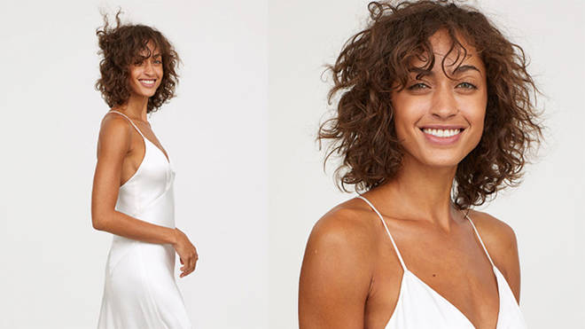 H&M's range of bridal dresses is both affordable and chic