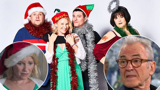 Larry Lamb gave a major update on Gavin and Stacey's return