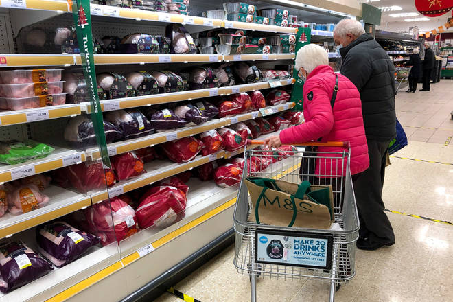Supermarkets want to keep shoppers safe