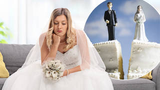 A wedding guest has revealed a shock story about his cousin'd big day