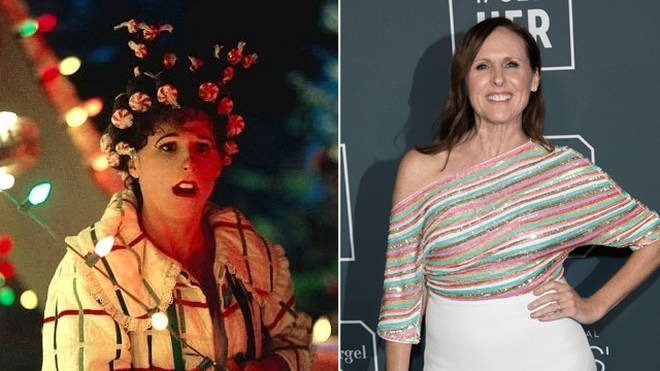 Molly Shannon starred as Betty Lou Who in The Grinch
