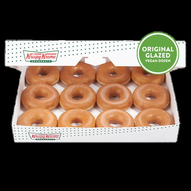 Vegan Krispy Kremes are finally here!
