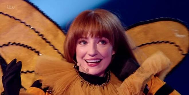Nicola Roberts was unmasked as the Queen Bee