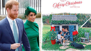 Meghan and Harry have shared their 2020 Christmas card