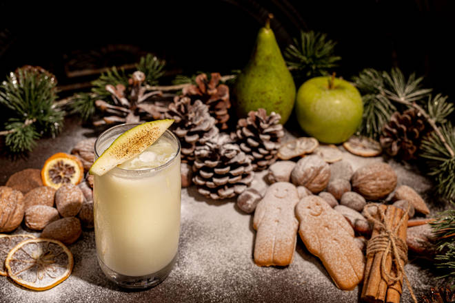 This creamy cocktail will delight pina colada fans