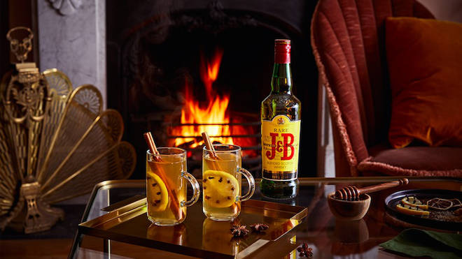 This is a festive twist on a hot toddy