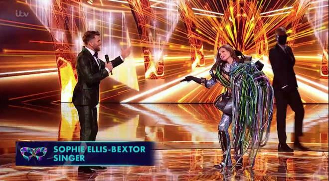 Sophie Ellis-Bextor was unmasked on episode one