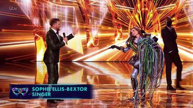 Alien is Sophie Ellis-Bextor!
