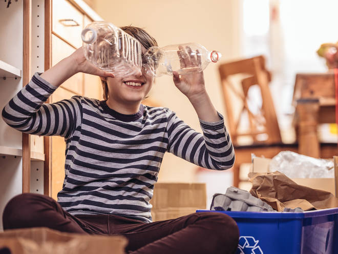 Re-use your bottles before recycling with this fun game