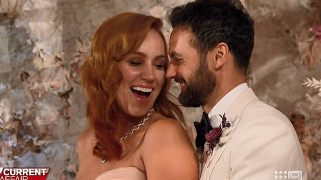 Jules and Cameron married on an episode of Current Affair