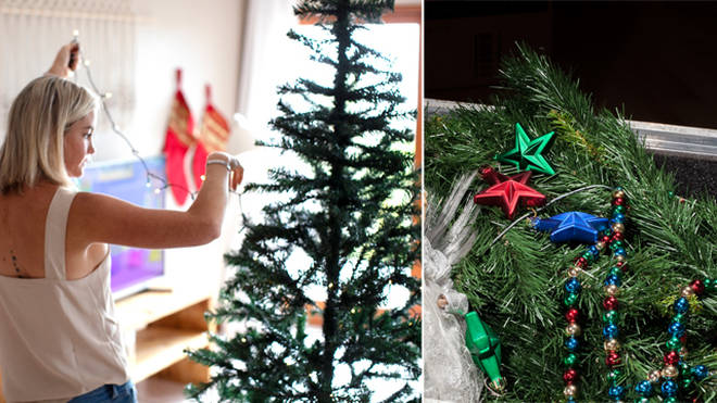 One mum puts her Christmas decorations down on December 25