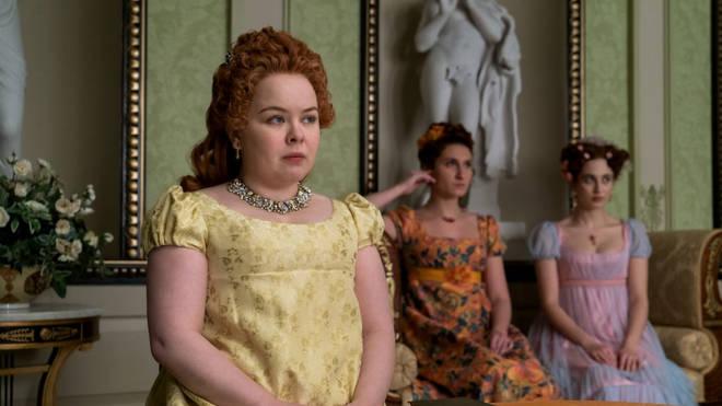 Penelope Featherington is Lady Whistledown