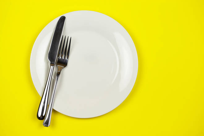 Many have supported the woman's unusual way of holding cutlery (stock image)