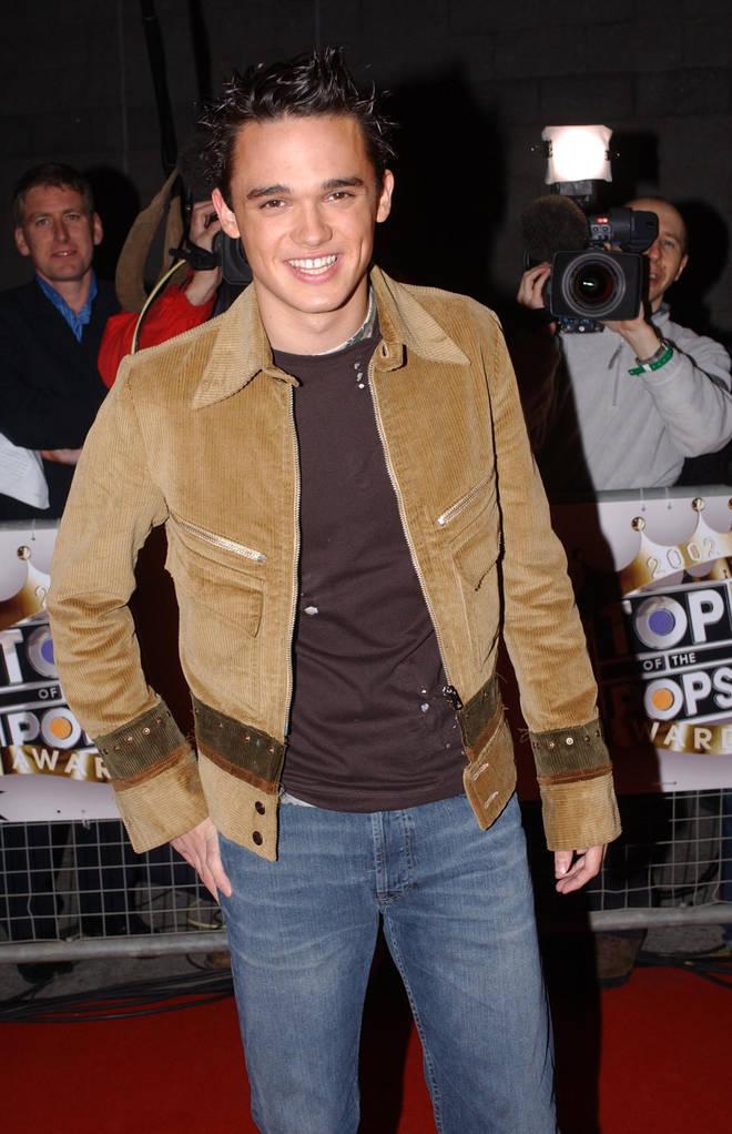 Gareth shot to fame on Pop Idol