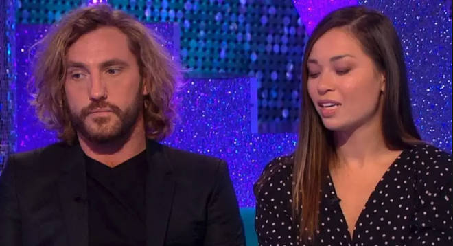Seann Walsh and Katya Jones appeared on Strictly spin off show It Takes Two with an apology