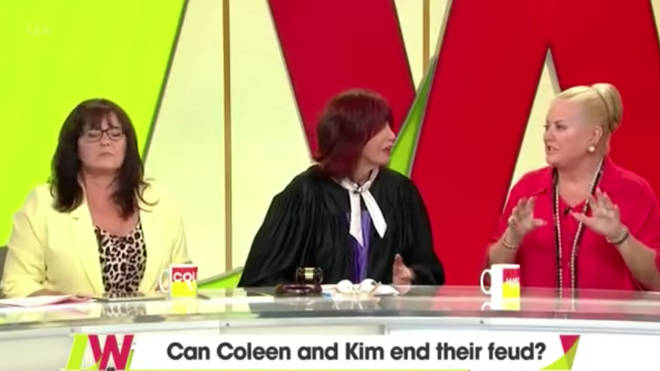 Coleen and Kim came to blows on Loose Women