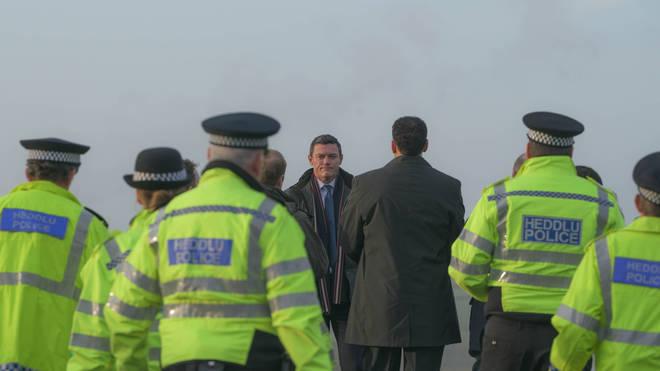 The Pembrokeshire Murders was filmed in Wales