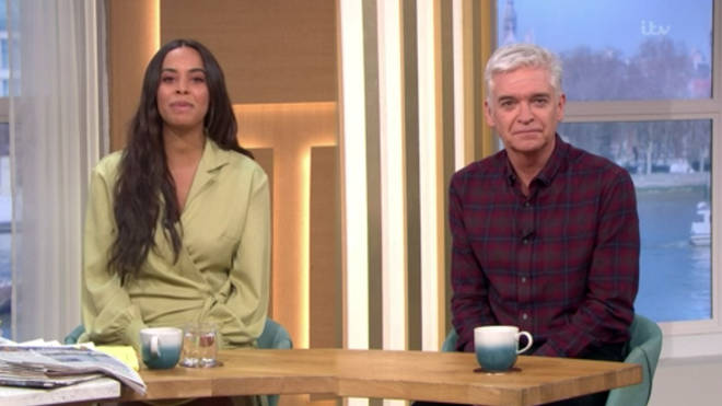 Rochelle Humes has replaced Holly Willoughby on This Morning