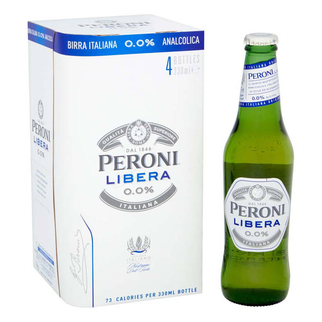 This alcohol-free beer was launched in 2019