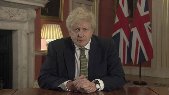 Boris Johnson addressed the nation on 4 January