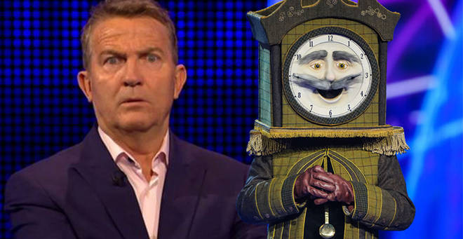 Is Bradley Walsh behind the mask?
