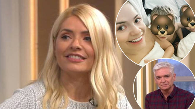 Holly Willoughby has had childcare issues