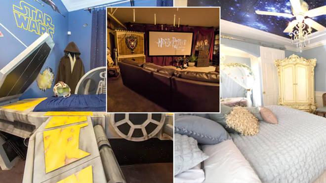 This Airbnb has Disney, Star Wars and Harry Potter themed rooms
