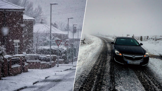Snow is heading to parts of the UK this week