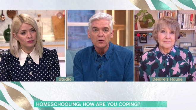 Holly Willoughby has offered a struggling mum her printer