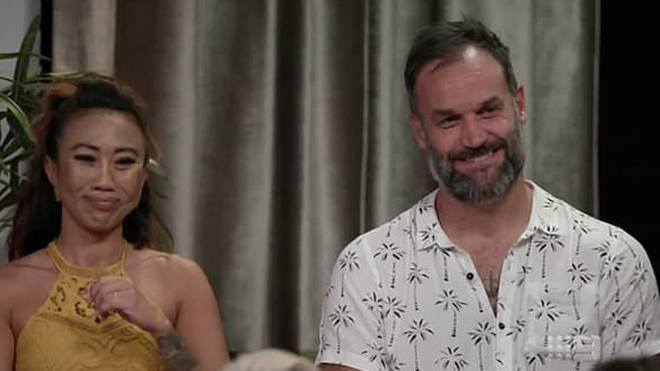 Ning and Mark split up during MAFS