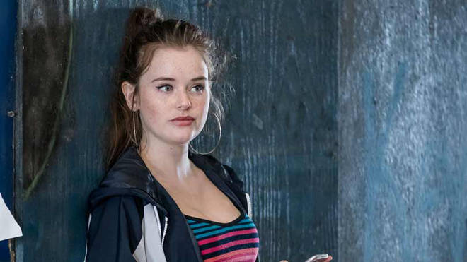 Abbie was caught up in a drug ring in the first series of The Bay
