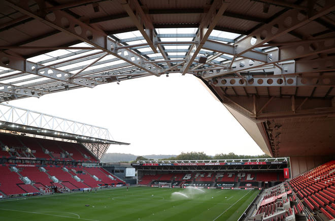 Ashton Gate Stadium in Bristol is one of the mass vaccination centres