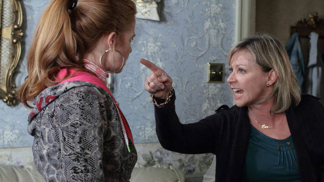Lindsey Coulson played Patsy Palmers mum on EastEnders