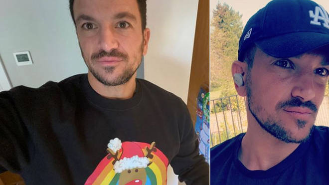 Peter Andre has tested positive for coronavirus