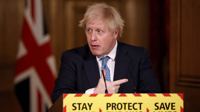 Boris Johnson has vowed to vaccinate 13million people by the end of February