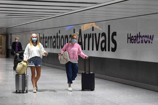 Arrivals to England and Scotland will have to test negative for Covid