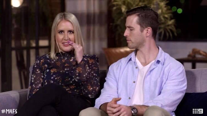 Lauren Huntriss and Matthew Bennett appeared on Married at First Sight Australia