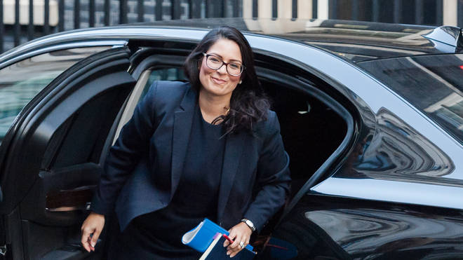 Priti Patel said the lockdown message is the same as it was in March 2020