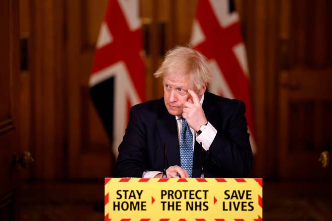 Boris Johnson is set to hold a coronavirus briefing