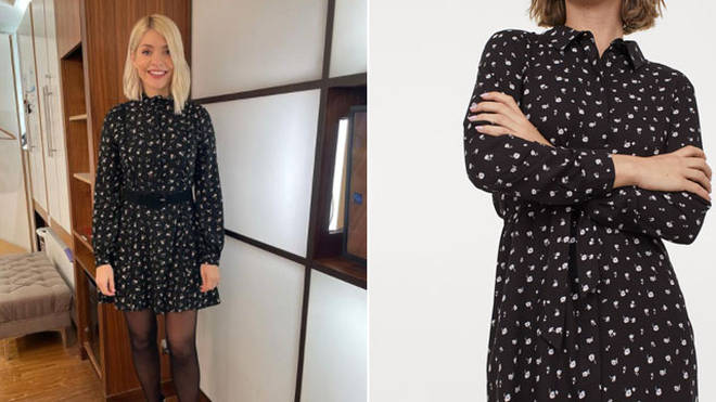 Holly Willoughby's dress is from H&M