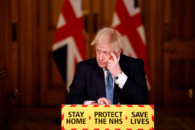 Boris Johnson put England into a national lockdown