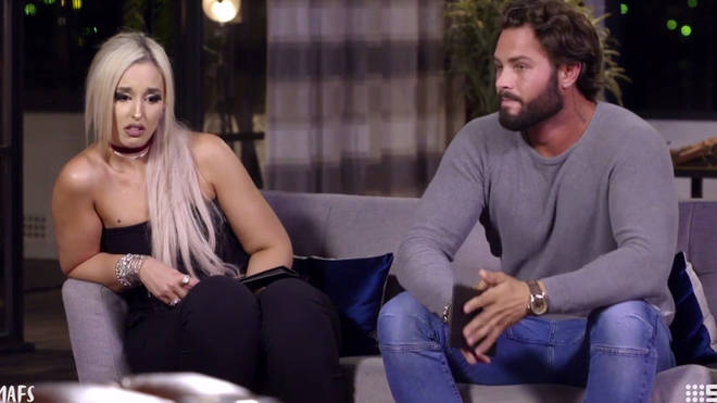 Sam was paired with Lizzie on Married at First Sight Australia