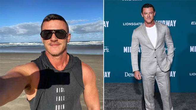 Luke Evans has had a long list of TV and film credits