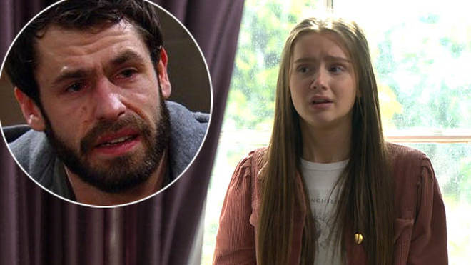 Sarah Sugden's dad is Andy in Emmerdale