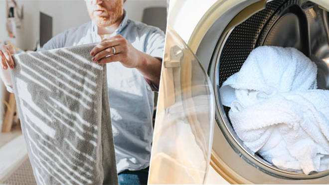 Here's how you should be washing your towels