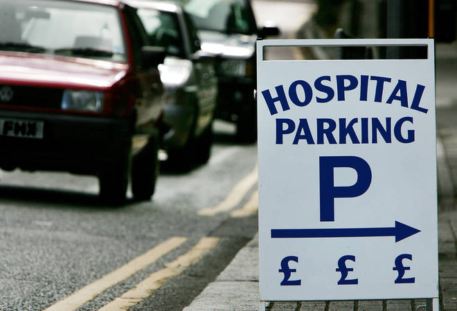 NHS trusts have reportedly pocketed around £70MILLION from car park costs