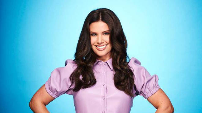 Rebekah Vardy is one of the contestants on this series of Dancing On Ice